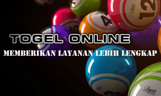 Togel Online Memberikan Layanan Lebih Lengkap