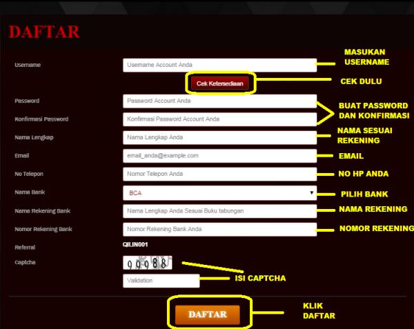 Petunjuk Beserta Langkah Daftar Poker Online Indonesia